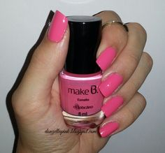 Esmalte Blushing Rose MakeB Barbie Edition do Boticário