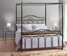 fabrica muebles hierro,decoracion,respaldos,camas con dosel