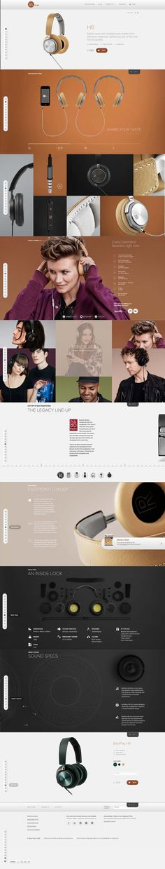 Absolutely amazing use of animation, html5 and javascript both... http://www.beoplay.com/Products/BeoplayH6?redirected=true#at-a-glance