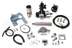 Get the most out of your steering efforts with the PSC Extreme Dudty Cylinder Assist Kit, which makes navigating even the tightest trail turn a breeze.