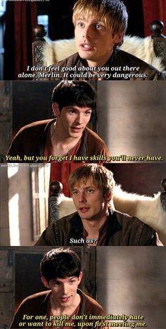 As cheeky as ever, Merlin Séries Télévisées Merlin Memes, Merlin Funny, Merlin Quotes, Sherlock Quotes, Sherlock John, Sherlock Holmes, Funny Sherlock, Watson Sherlock, Merlin Show