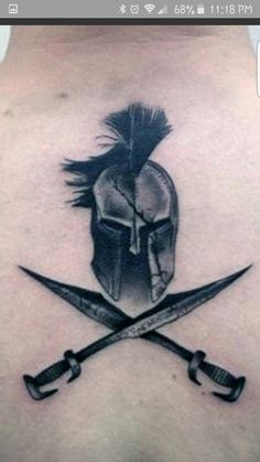 SpartanYou can find Military tattoos and more on our website. Forarm Tattoos, Maori Tattoos, Body Art Tattoos, Small Tattoos, Sleeve Tattoos, Tattoos For Guys, Cool Tattoos, War Tattoo, Armor Tattoo