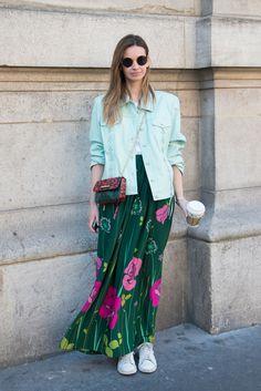 102 Chic as Sh*t Paris Street Style Looks  - Cosmopolitan.com