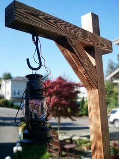 Haunted Walkway Lantern Posts
