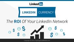 LinkedIn Currency: The ROI Of Your LinkedIn Network - @meloniedodaro