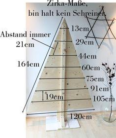 Hallo Mädels,  darf ich vorstellen: Weihnachtsbaum, der Zweite.  Die Originalbäume vom Nikolausmarkt waren aus alt...