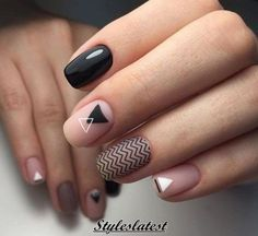 Weddbook ♥♥ You can inspire these creative nail art examples. You can do trendy and colorful nails with different types of nail polish and nail embellishments. Fancy Nails, Love Nails, Diy Nails, Matte Nails, Fabulous Nails, Gorgeous Nails, Pretty Nails, Perfect Nails, Nagellack Trends