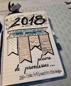 Comment réaliser une page décorative avec du washi tape ! - Tiph's Bullet Journal