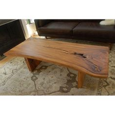 Image of HD Buttercup Teak Live Edge Coffee Table