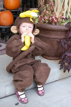 100 unique selbstgemachte Kostüme - tolle DIY Kleidung Monkey Costumes, Toddler Costumes, Diy Costumes, Halloween Costumes, Costume Ideas, Diy Kleidung, Halloween Diy, Kids Outfits, Unique