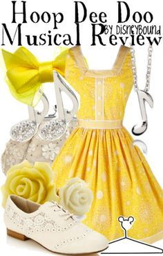 Great Yellow outfit for Dapper Day!