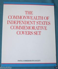 The Commonwealth of Independent States Commemorative Covers Set. Soviet Union, Commonwealth, Saving Money, Russia, Cover, Save My Money, Federal, Money Savers, Blanket