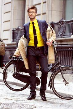 mmmm men and Dutch bike = sexy