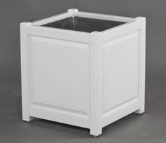 Outdoor garden Planters in Painted Mahogany or Teak - 21 or 24h 19 or 24d 19 or 24w -  Richardson-Allen Outdoor Furniture