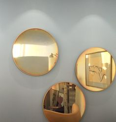 Mirror trio, part of Fritz Hansen's new accessories collection
