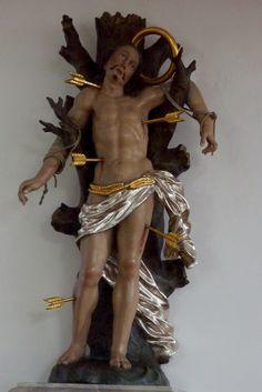 Anonyme, 18th century, Hl. Sebastian, Katholische Pfarrkirche St. Martin in Horgau, Landkreis Augsburg, Bayern, Duitsland