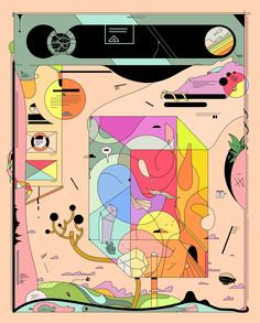 Gibberish Worlds on Behance