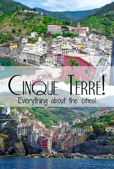 Everything you need to know about the 5 villages that formed the famous Cinque Terre in Italy! #travel #italy #cinqueterre #italytravel