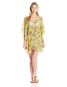 Jessica Simpson Womens Sweet Treat Cover Up Lemon Large * You can find out more details at the link of the image.