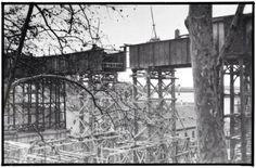 Desmontaje del antiguo viaducto de la calle Bailén. Madrid