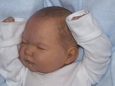 CUSTOM Reborn doll Berenguer DISCONTINUED Newborn Baby full limbs**JUNEBIRD**