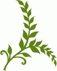 Resultado de imagem para molde de galhos com folhas para silhouette
