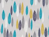 Cloud9-First Light-Leaf Line-Up Turquoise 1/2YD...