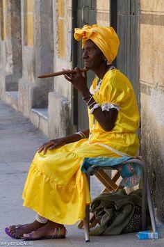 Cigar Grannie by Mikhail Shklyarenko on 500px