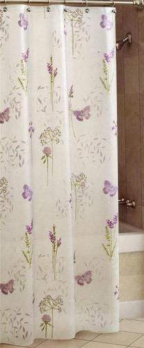 Curtains Ideas butterfly shower curtain : Bathroom Decor: Little Girl's Pink Blue Purple Gray Butterfly ...