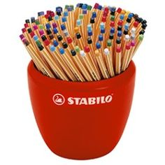 Stabilo Fine Point Pen Point 88 in Ceramic Pot 150 Pens Assorted Stabilo Point, Stabilo Boss, Free Sample Boxes, Fine Point Pens, School Suplies, Stationary Store, Cute Pens, School Stationery, Back To School Supplies