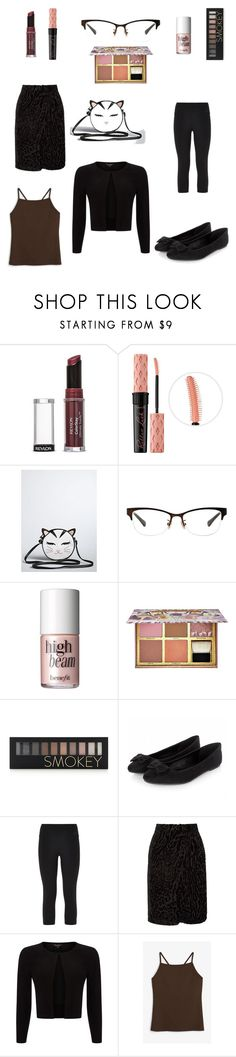 """""""OOTD: tgif"""" by jennie-tupper ❤ liked on Polyvore featuring Revlon, Benefit, Torrid, Coach, Forever 21, NIKE, Altuzarra, Phase Eight and Monki"""