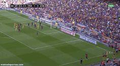 El gol de la Liga! Godin! (GIF)