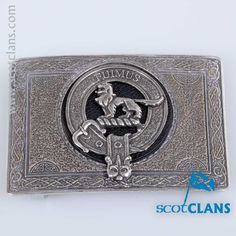 Bruce Clan Crest Belt Buckle. Free Worldwide Shipping Available