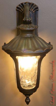 Iron Sconce Light Fixture