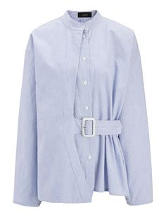 A great twist on the classic shirt. Wear with a skirt or trousers