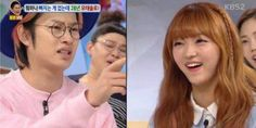 Heechul and Oh My Girl's YooA go on a blind date | http://www.allkpop.com/article/2016/03/heechul-and-oh-my-girls-yooa-go-on-a-blind-date