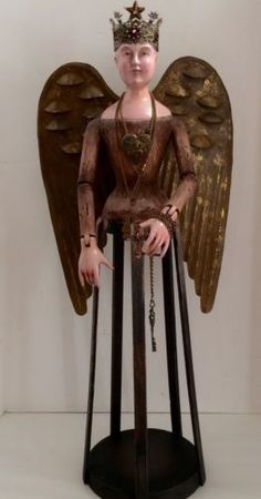 Large-Santos-Cage-Doll-with-Tiara-Wings-and-Jewelry-28-5-tall