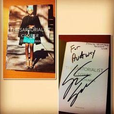 Book : Closer - The Sartorialist / Scott Schuman ( Paris / Boutique Colette ~ 28 septembre 2012)