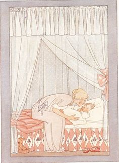 Henriette Willebeek Le Mair - would make a sweet birth announcement!