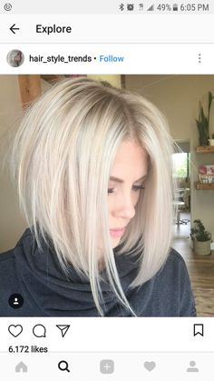 45 Edgy Bob Haircuts To Inspire Your Next Cut. Edgy bob haircuts are best for those of you who are dreaming of some change in your lives but have no clue Edgy Bob Haircuts, Inverted Bob Hairstyles, Haircuts For Fine Hair, Wig Hairstyles, Hairstyle Ideas, Hair Ideas, Longer Bob Hairstyles, Wedding Hairstyles, Female Hairstyles
