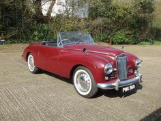 1953 Sunbeam Alpine Roadster  Chassis no. D3013839HR0 Engine no. D3013839