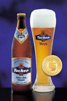 87  very good - Tucher Helles Hefe Weizen - Brauerei Tucher Brau  http://www.beeradvocate.com/beer/profile/129/371/