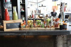 Mussel Bar in Arlington Brunch Bloody Mary Bar, Mimosas, Mussels, Washington Dc, Clever, Brunch, Bubbles, Entertaining, Home