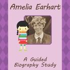 Amelia Earhart, Guided Biography Study – this is a great activity in which students get to choose their own edition of a biography about the great ...