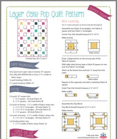 Layer Cake Quilt Patterns, Layer Cake Quilts, Fabric Squares, Quilt Block Patterns, Pattern Blocks, Quilt Blocks, Patch Quilt, Layer Cakes, Scrappy Quilts