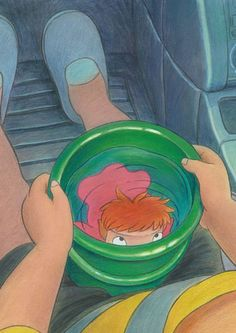 Ponyo, ponyo, ponyo, fishy in the sea
