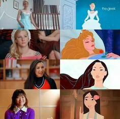 Glee girls and Disney