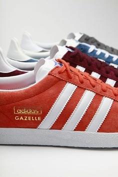 adidas gazelle bleu et orange