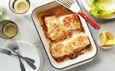 Roasted Garlic and Parmesan Baked Halibut - Seafood Recipes