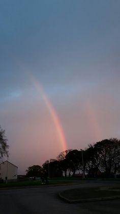 Lovely rainbow in Elgin